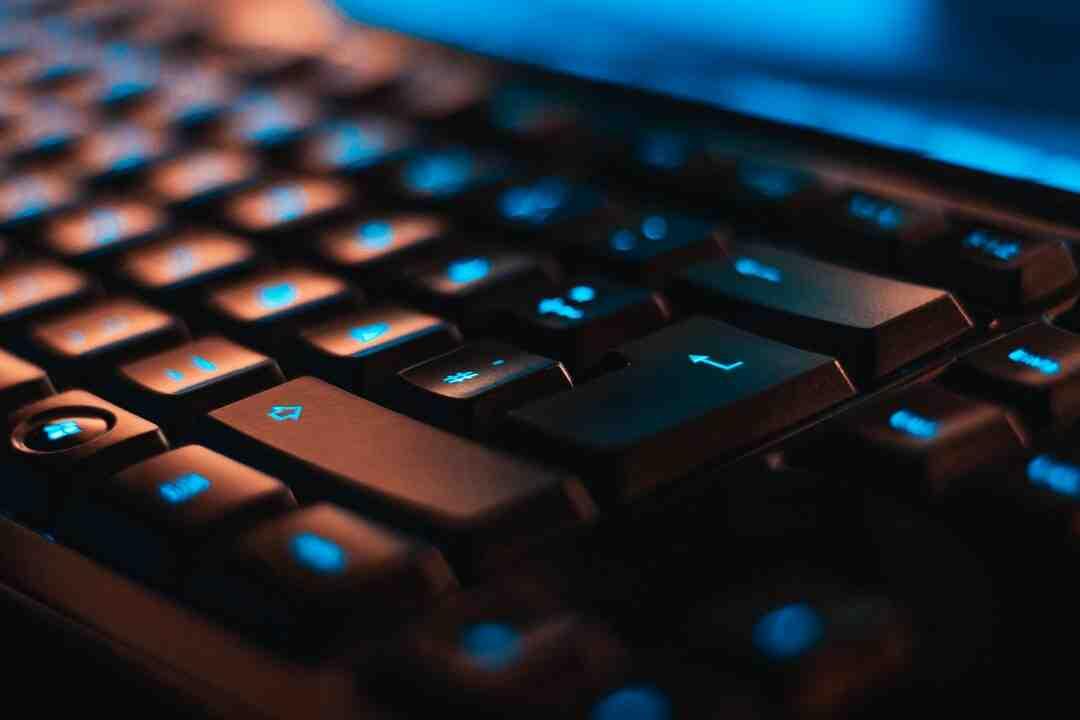 Comment coller avec le clavier